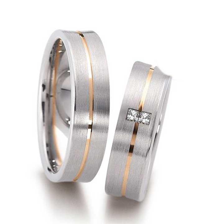 Dikdörtgen Taş Gümüş Alyans Modeli Bayan Nişan Yüzüğü