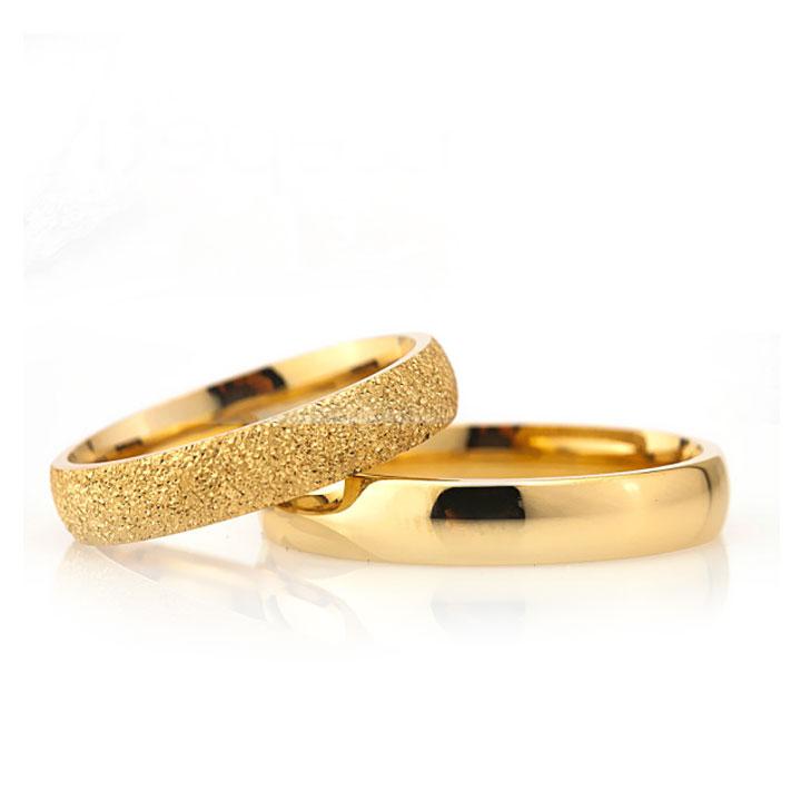 Altın Kaplama Bay Gümüş Alyans Modeli Nişan ve Söz Yüzüğü