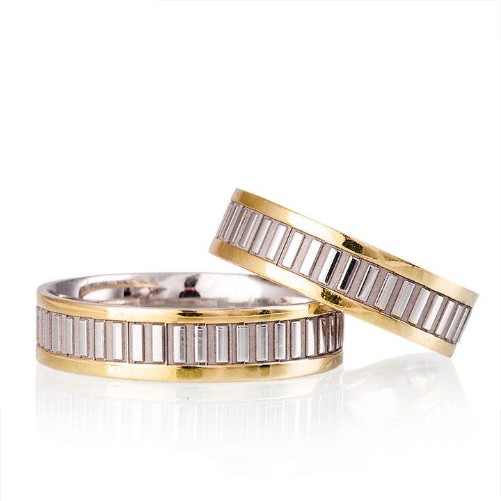 Aleda Modeli Gümüş Alyans Bay Nişan Yüzüğü