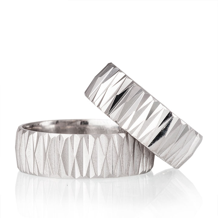 Begonvil Gümüş Alyans Modeli Bay Söz Yüzüğü