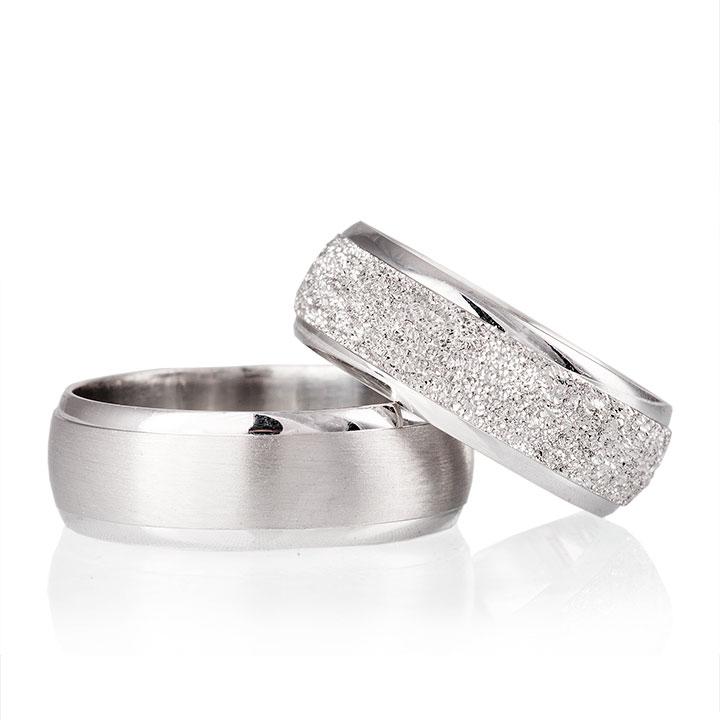 Defne Modeli Gümüş Alyans Bay Nişan ve Söz Yüzüğü