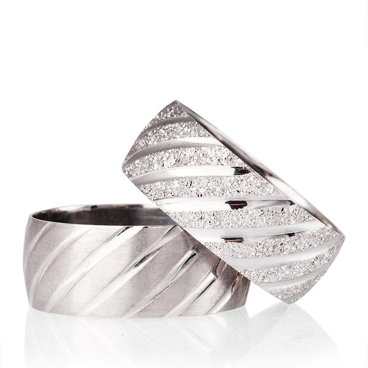 Venüs Nişan Yüzüğü Bayan Gümüş Alyans