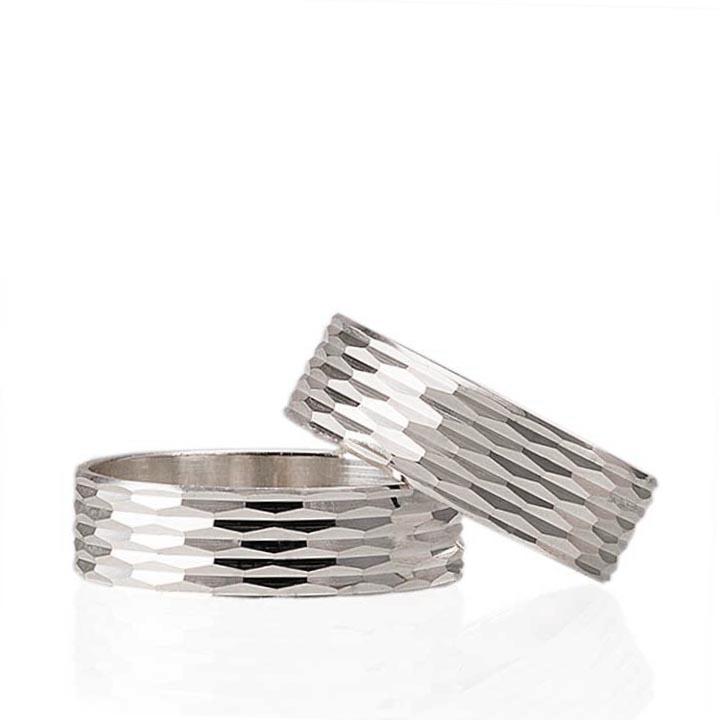 Elmas Modeli Gümüş Alyans Bayan Nişan ve Söz Yüzüğü