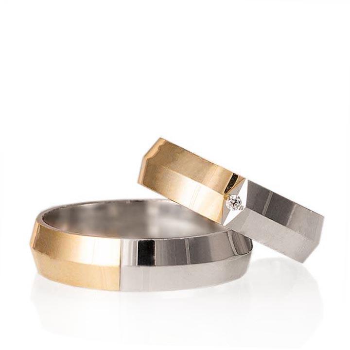 Missy Modeli Gümüş Alyans Bay Nişan Yüzüğü