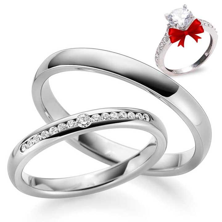 Söz Yüzüğü Gümüş Alyans Çifti