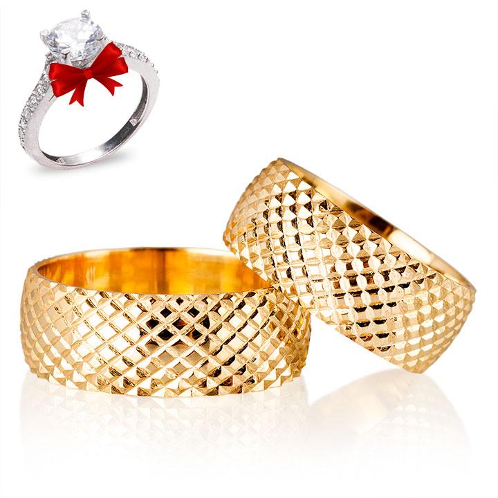Karşıyaka Gümüş Alyans Modeli Nişan Yüzüğü