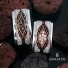 Kybele Modeli Gümüş Alyans Çifti