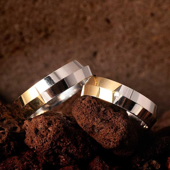 Missy Modeli Gümüş Alyans Çifti Nişan Yüzüğü