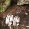 Zakkum Gümüş Alyans Modeli Bayan Nişan Yüzüğü