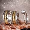 Fulya Modeli Gümüş Alyans Çifti